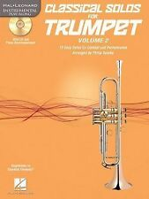 Classical Solos for Trumpet, Vol. 2 : 15 Easy Solos for Contest and...