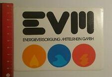 Aufkleber/Sticker: EVM Energieversorgung Mittelrhein GmbH (03091631)