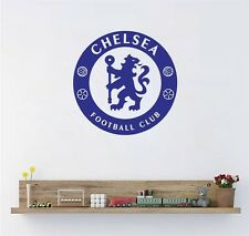 Blue Chelsea Football Club Wall Stickers Vinyl Art Home Wall Decal wall Decor
