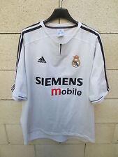 VINTAGE Maillot REAL MADRID camiseta ADIDAS époque ZIDANE L maglia trikot 2004