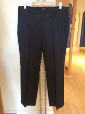 """Olsen 'Mona' Tailored Trousers Size 20 BNWT 33 3/4"""" Grey RRP £99 Now £45"""