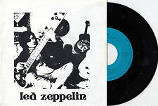 LED ZEPPELIN MISTY MOUNTIAN HOP RARE SPECIAL LIMITED EDITION RECORD PS 45rpm