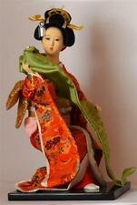 JAPANESE SCARF DANCING LADY DOLL in TRADITIONAL THEMED COSTUME Oriental Geisha