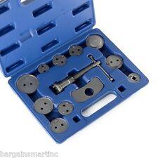 12pc Disc Brake Caliper Wind Back Tool Universal Kit Set Piston Pad Car Truck