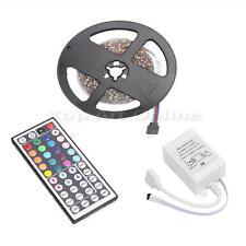5M Lumière de bande Flexible Ruban 3528 SMD 300 LED RGB Lightbulb Télécommande