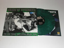 "CHAIN OF STRENGTH ""THE ONE THING THAT STILL HOLDS TRUE"" LP , LIMITED GREEN VINYL"