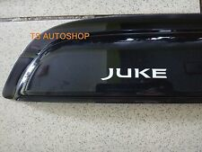BLACK 4 DOOR WEATHER GUARDS VISOR FOR NEW NISSAN JUKE 4DOOR HATCHBACK 2014