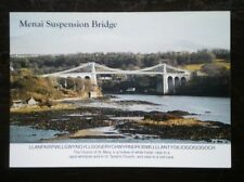 POSTCARD B45-21 ANGLESEY MENAI SUSPENSION BRIDGE