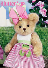 "Bearington Bear REESE & RIBBIT 10""  Girl Frog Doll #143276 NEW SPRING 2014"