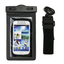 Waterproof Underwater Wrist Case Bag For Samsung Galaxy S7 Edge S6 S5 S4 S3 Note