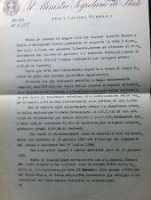 1938 COBOGLI GIGLI GIUSEPPE TRIESTE MONTU' BECCARIA PAVIA