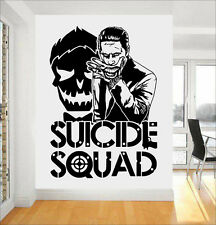 Joker Suicide Squad Wall Art Sticker/Decal