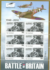 Battle of Britain-Spitfire-Aviation-World War II-Special sheet mnh