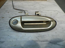 OEM 2001 Ford Taurus Front Passenger's Side Door Gold Exterior Handle Assembly