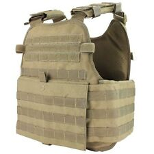 CONDOR MOPC MOLLE Operator Plate Carrier Body Armor Chest Assault Rig Vest TAN