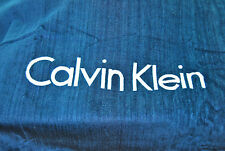 "NEW CALVIN KLEIN LUXURIOUS PLUSH 32""X 63"" TOWEL & MESH BAG - FREE SHIPPING"