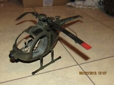 """2005 BBI BLUE BOX US ARMY HELICOPTER FOR GI JOE 3.75""""  - AS-IS!"""