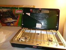 Coleman PERFECTFLOW Camping 2 Burner Propane Stove / Kitchen Grill New In Box