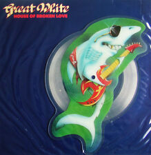 EX! GREAT WHITE HOUSE OF BROKEN LOVE VINYL SHAPED PICTURE PIC DISC