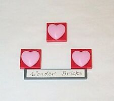 Lego Hearts Bright Pink Large 7513 Decoration Sign Clikits Icon