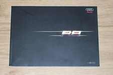 2009 softcover brochure Audi R8, Chinese