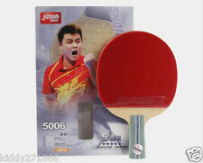 Table Tennis Rackets DHS5006 Ping Pang Paddle Paddle Bat 5 Star Short Handle Hot
