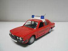 BMW 528 i FEUEWEHR 112 GAMA 1/43