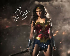Dawn of Justice Wonder Woman Gal Gadot Signed Photo Autograph Reprint