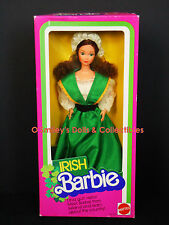 Rare DOTW Vintage #1 IRISH Barbie 1984 DOLLS OF THE WORLD IRELAND_07517_NRFB