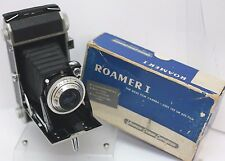 Rare Boxed - Universal Roamer 1 120/620 Roll Film Aluminium Folding Camera