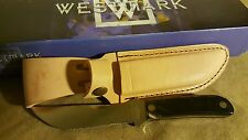 Westmark USA  Western Outers Knife Buffalo Horn LNIB