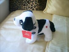 NEW BIG DOG RADIO, Transistor Radio, Puppy Radio BLACK & WHITE DOG NWT