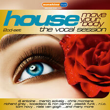 CD House The Vocal Session Move Your Body! von Various Artists 2CDs