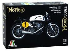 Italeri 1:9 Norton Manx 500cc 1951 Motorcycle Model Kit 4602 ITA4602