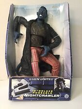 "X-Men The Movie Nightcrawler Action Figure 12"" Marvel 2003 New In Package"