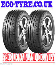 2X Tyres 245 40 R17 91W Bridgestone Turanza T001 E B 71dB