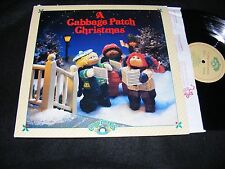 A Cabbage Patch CHRISTMAS LP Cabbage Patch Kids 1984 Children Holiday Collectibl