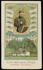 antico santino cromo-holy card Ven. JOSEPH de VENTRON er. des BUTTES