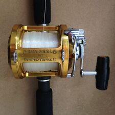 Penn International II 12T Lever Drag Control Fishing Reel VG Salt Water