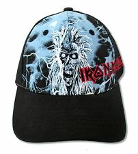 Iron Maiden Sanctuary Early Ed Black Baseball Ball Hat New Official Heavy Metal