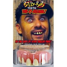 Billy Bob Original pro false teeth stag men's fancy dress costume wedding party