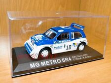 MG METRO 6R4 RAC RALLY 1985 1:43 T.POND-R.ARTHUR#10