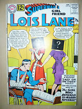 LOIS LANE DC Comics- SUPERMAN'S GIRL FRIEND, No.38, January 1963