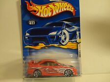 2001 Hot Wheels #27 Red Honda Civic SI w/PR5 Wheels