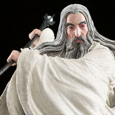 WETA Lord of the Rings The Hobbit Saruman At Dol Guldor statue figure NEW SEALED