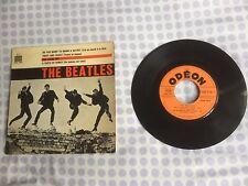 45T EP  THE BEATLES Odéon SOE 3741 France