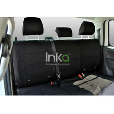 Jeep Compass MK49 Rear Inka Fully Tailored Waterproof Seat Covers Black MY11-16