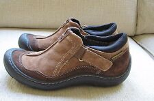 Women's Privo by Clarks Brown Suede Leather Sport Loafer Shoes Size 7 M