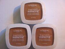 L'OREAL TRUE MATCH Gentle Mineral Powder Classic Tan N6-7 416 Lot of 26