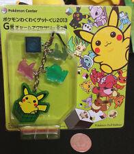 Pokemon Wakuwaku Kuji Prize G Pikachu Pokedoll Keychain Banpresto Strap 2013 BP